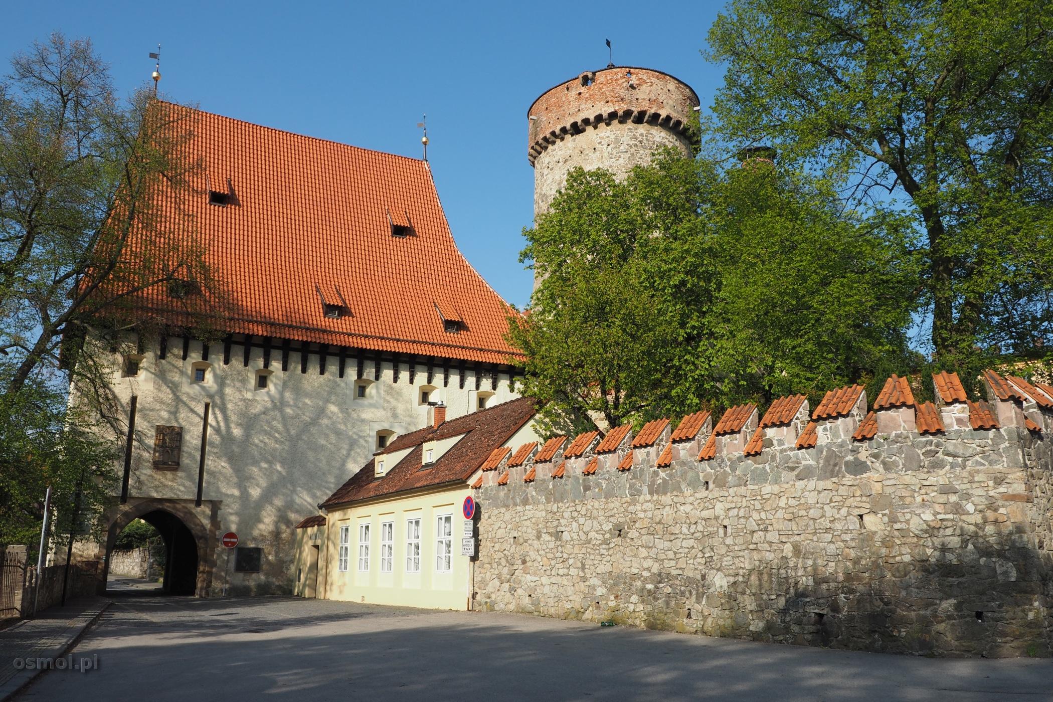 Baszta Kotnov oraz Bechtyńska Brama . Tabor, Czechy