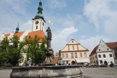 Czeski Tabor. Główny plac miasta