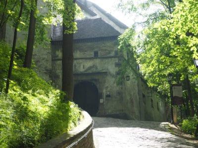 Główne wejście do Zamku Orawskiego
