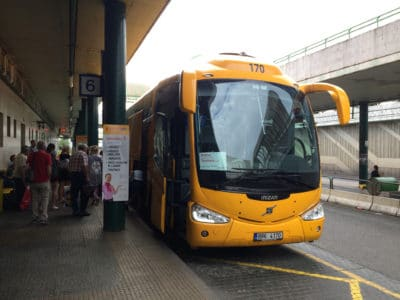 Autobus Student Agency w Czechach