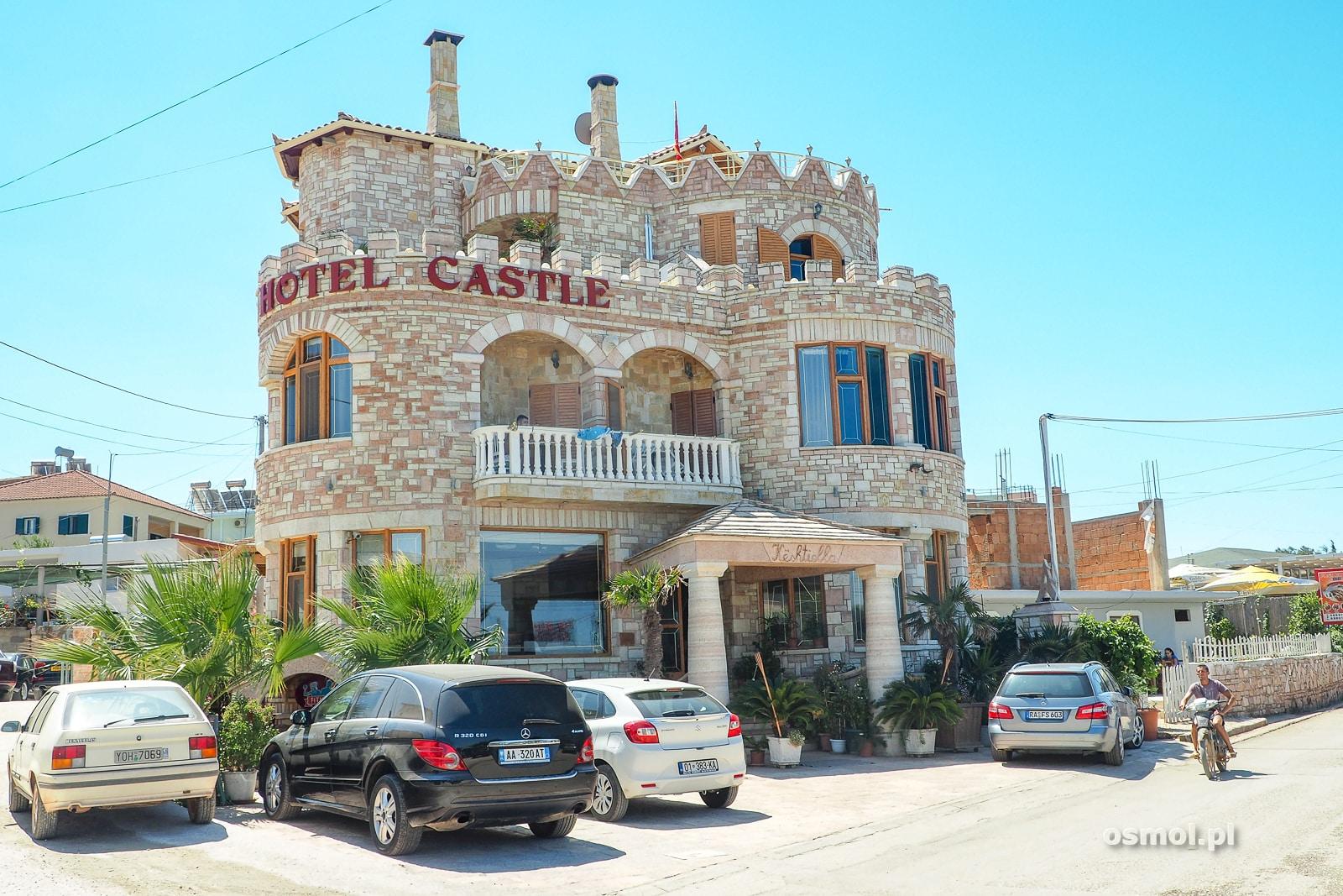 Hotel zamek w Ksamilu