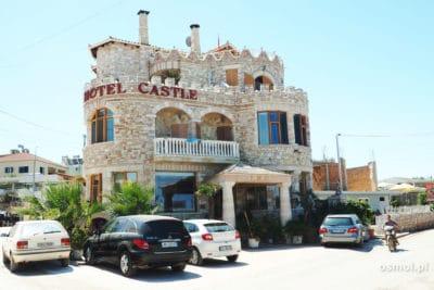hotel zamek w Ksamilu Albania