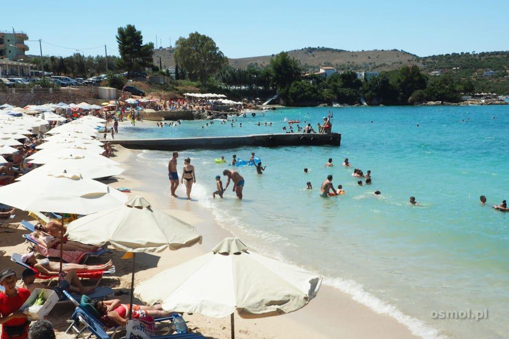 Ksamil Albania - plaża