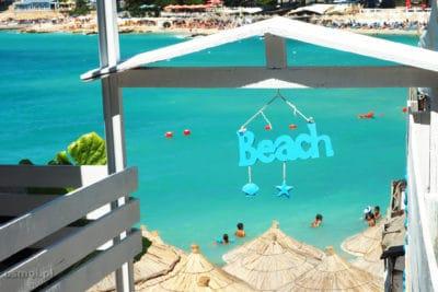 Beach Bar w Ksamilu Albania