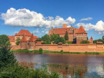 Zamek krzyżacki w Malborku największa ceglana warownia na świecie