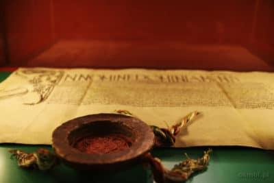 Dokumenty w zamkowym muzeum - Malbork