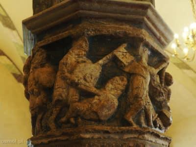 Sceny nawracania pogan w zamku krzyżackim w Malborku
