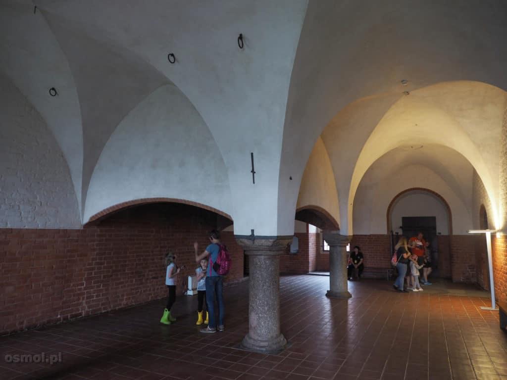 Wielka, główna kuchnia zamku w Malborku