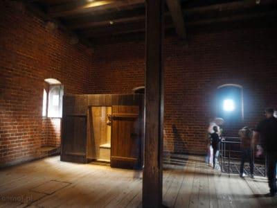 Ubikacja czyli gdanisko na zamku w Malborku
