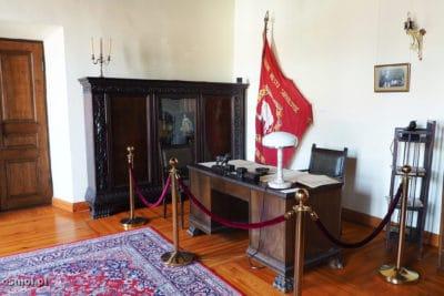 Gabinet burmistrza w ratuszu w Kownie