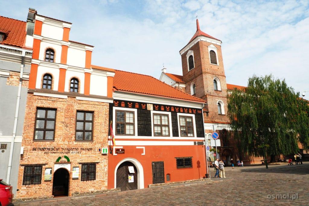 Zabudowania starego miasta w Wilnie