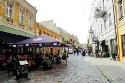 Deptak w Kownie - Aleja Wolności