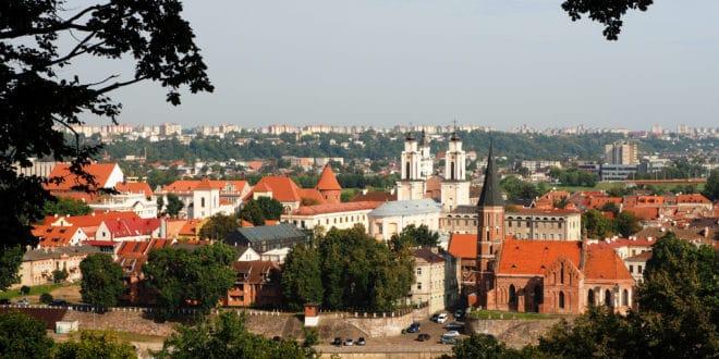 Panorama - widok na Kowno