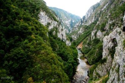 Krajobraz północnej Czarogóry
