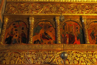 Ikony w monasterze Piva
