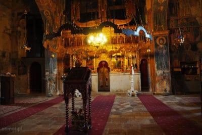 Wnętrze monasteru Piva