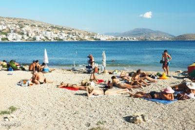Plaża w Sarandzie - Albania