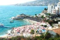 Plaża i hotel w Sarandzie - Albania