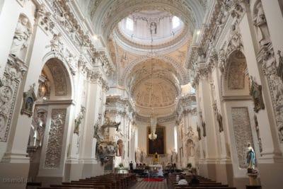 Kościół św. Piotra i Pawła na Antokolu w Wilnie - wnętrze