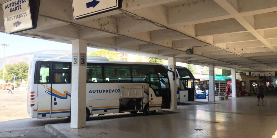 Dworzec autobusowy w Mostarze