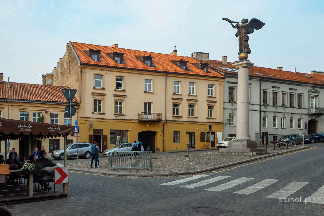 Główny plac Republiki Zarzecza w Wilnie