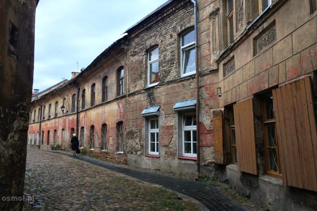 Stara uliczka w Wilnie