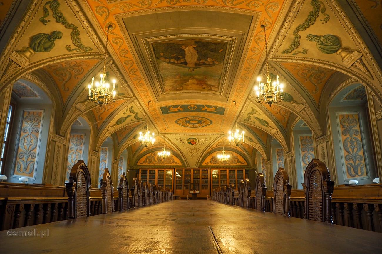 Sala Franciszka Smuglewicza w bibliotece Uniwersytetu Wileńskiego zachwyca. Dla niej warto przyjść na uniwersytet