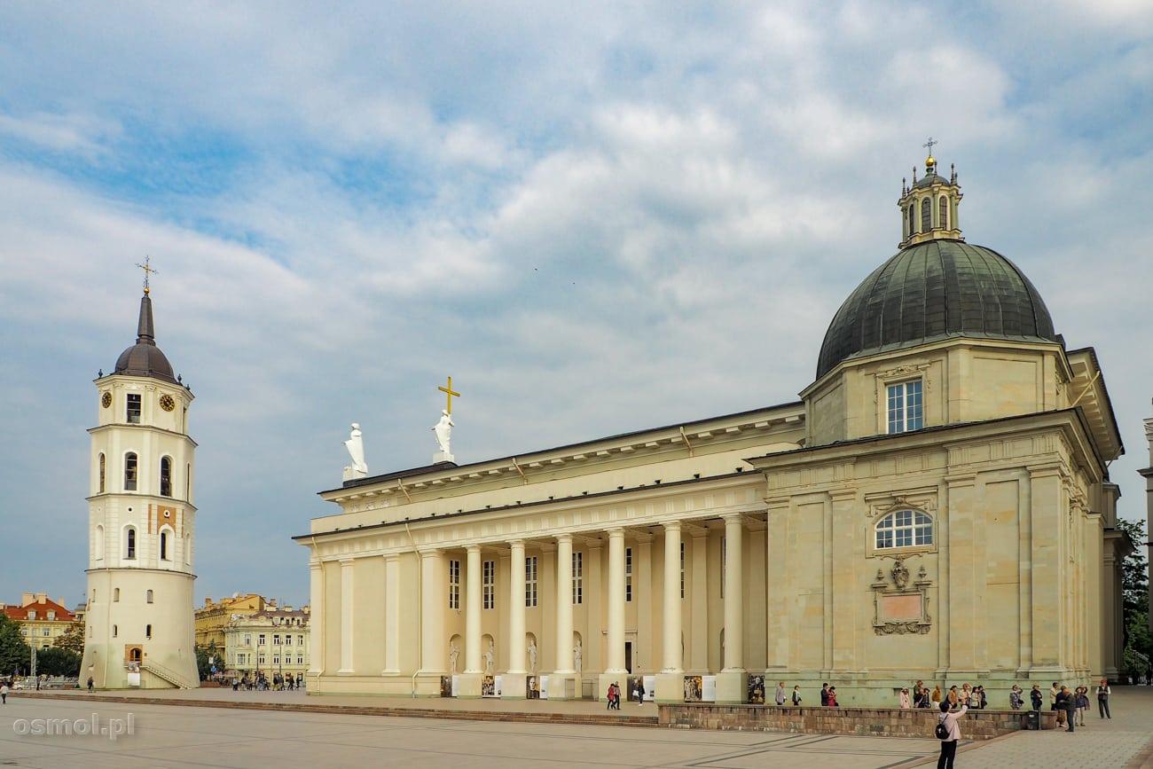 Katedra na Placu Katedralnym w Wilnie
