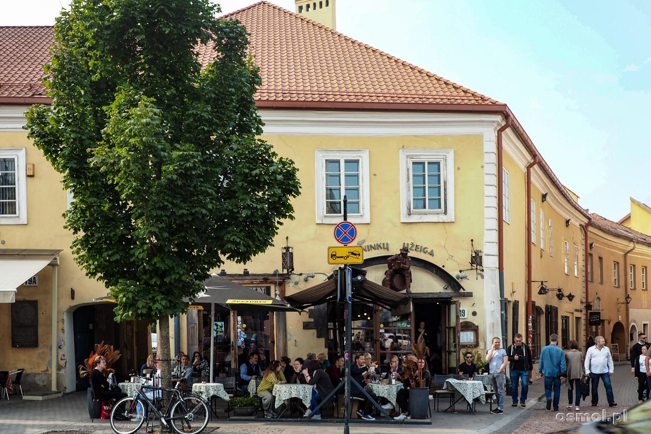 Restauracja na Starym Mieście w Wilnie