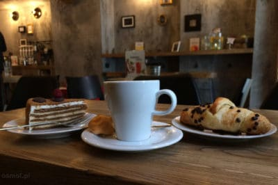 Kawiarnia w Wilnie