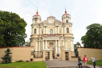 Kościół na Antokolu w Wilnie