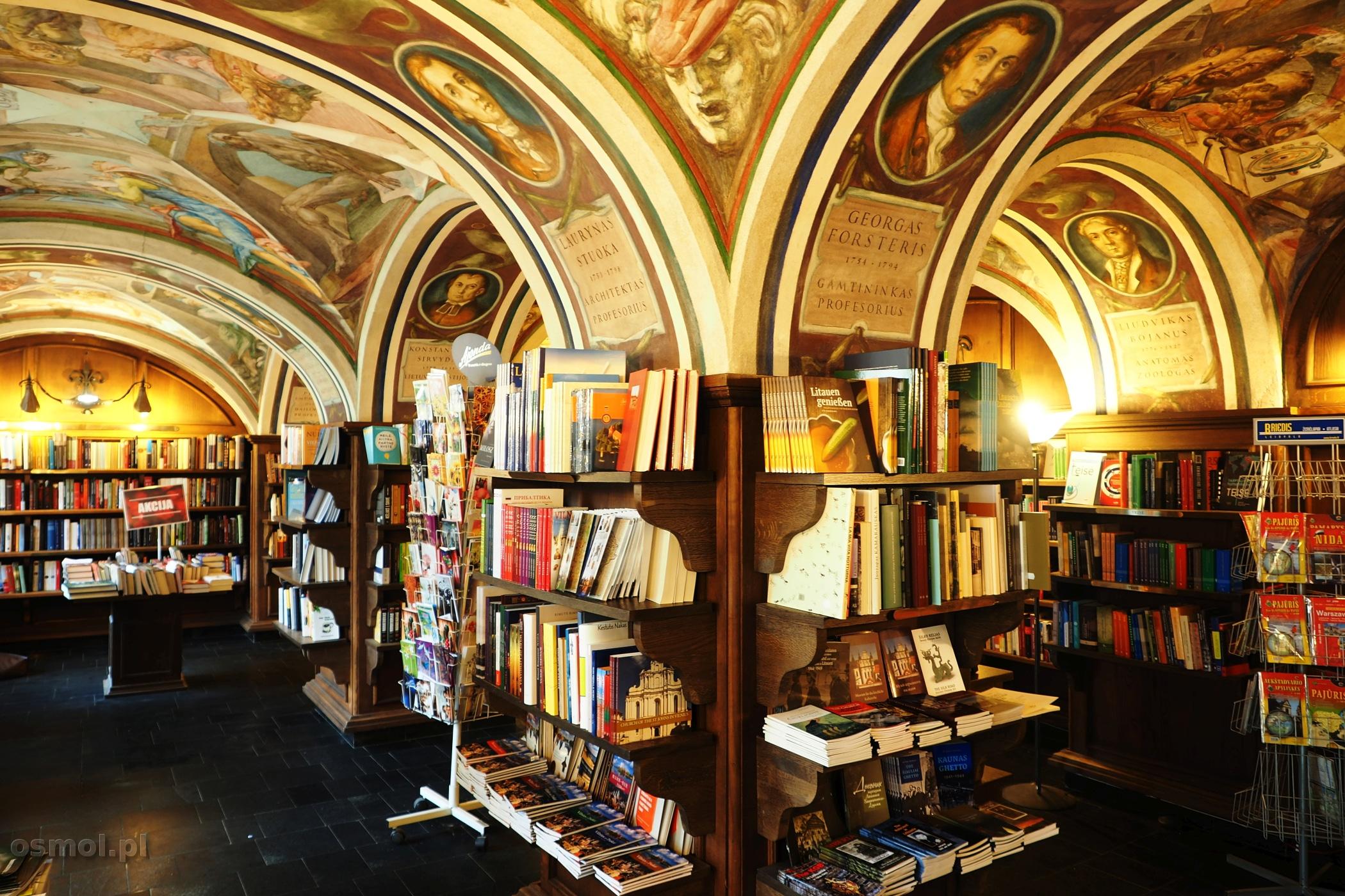 Księgarnia Littera w WIlnie