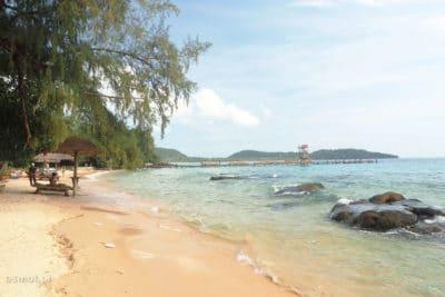 Jedna z wielu plaż na Koh Rong