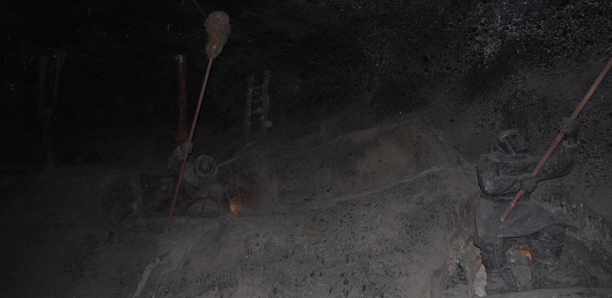 Górnicy pokutnicy zajmowali się wypalaniem metanu w kopalni