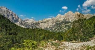 Ranek w Górach Przeklętych Albania