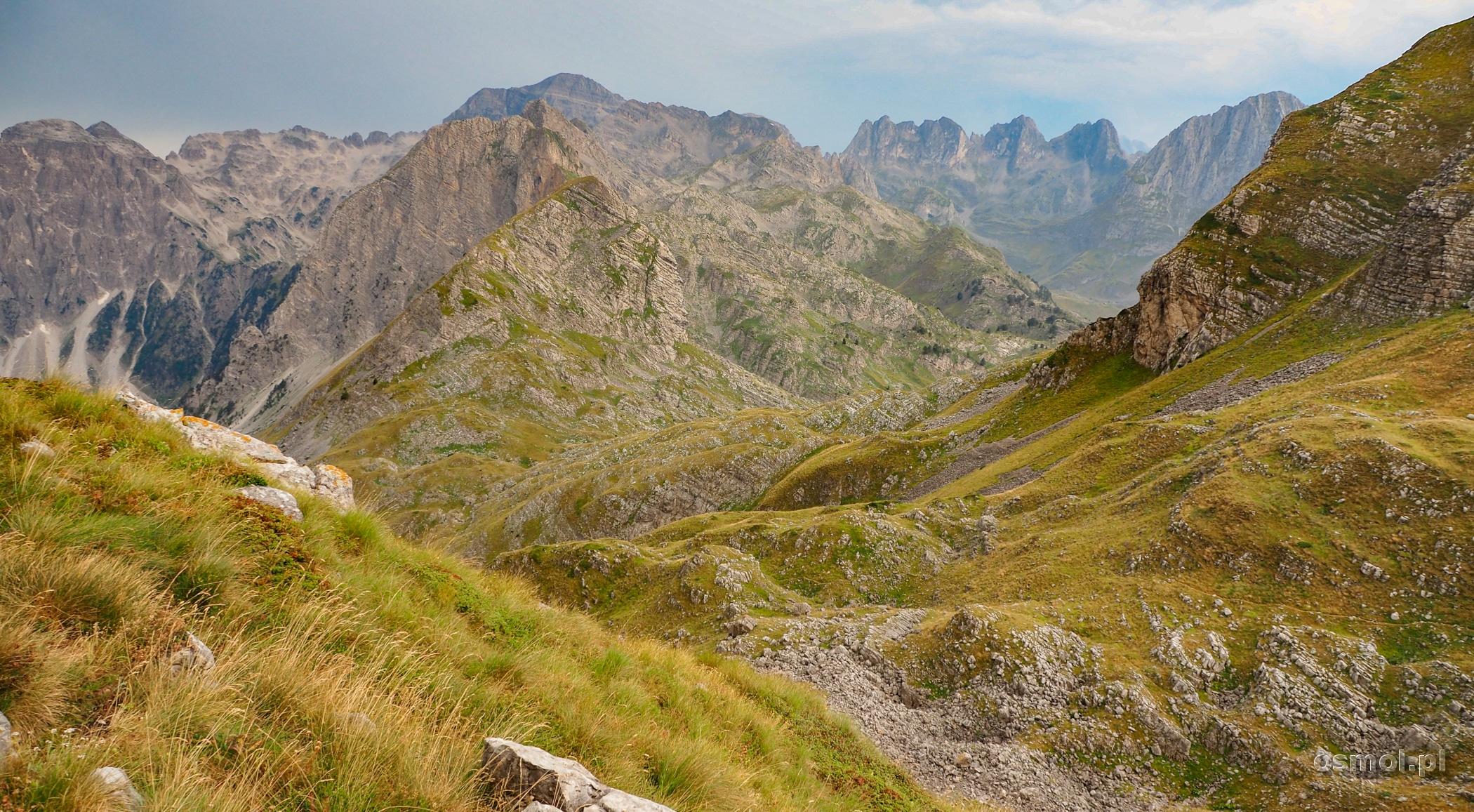 Góry Przeklęte - szlak na Maja e-Rosit