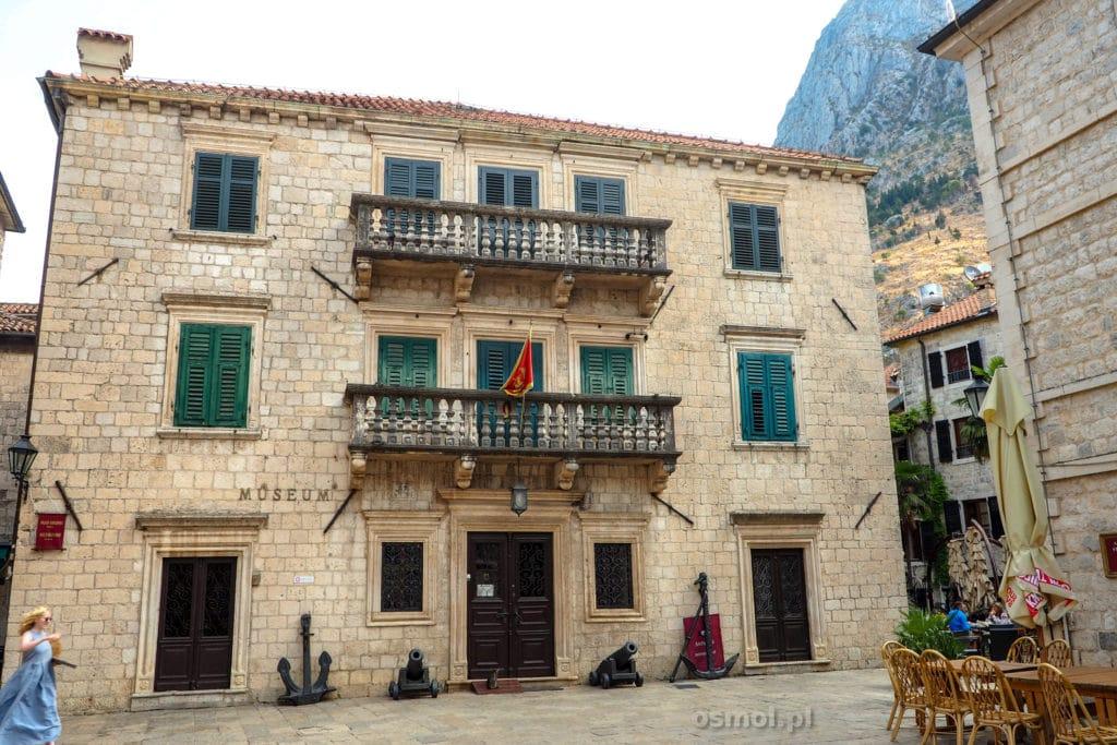 Budynek muzeum miejskiego w Kotorze