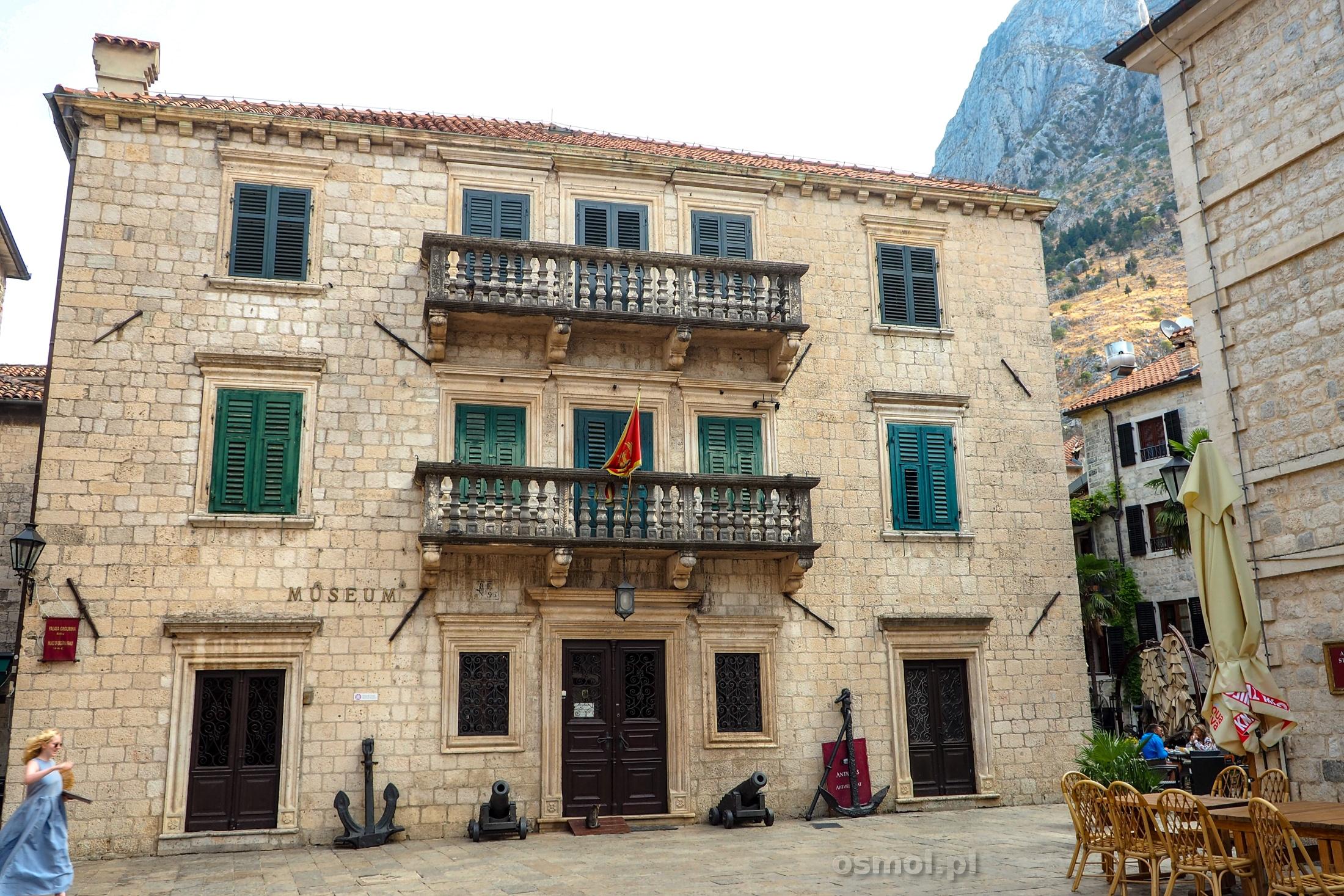 Budynek Muzeum w Kotorze
