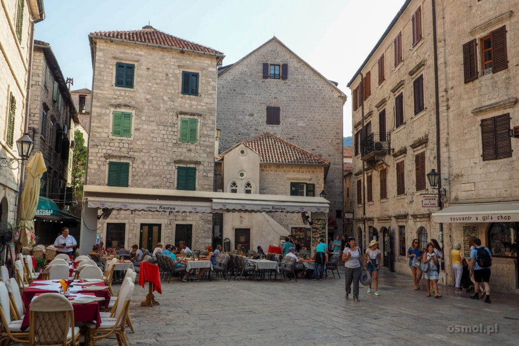 Jeden z pacy w Kotorze