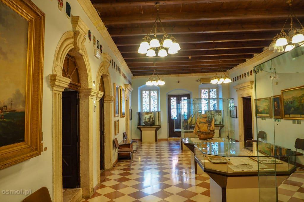 Kotor. Wnętrze Muzeum Miejskiego