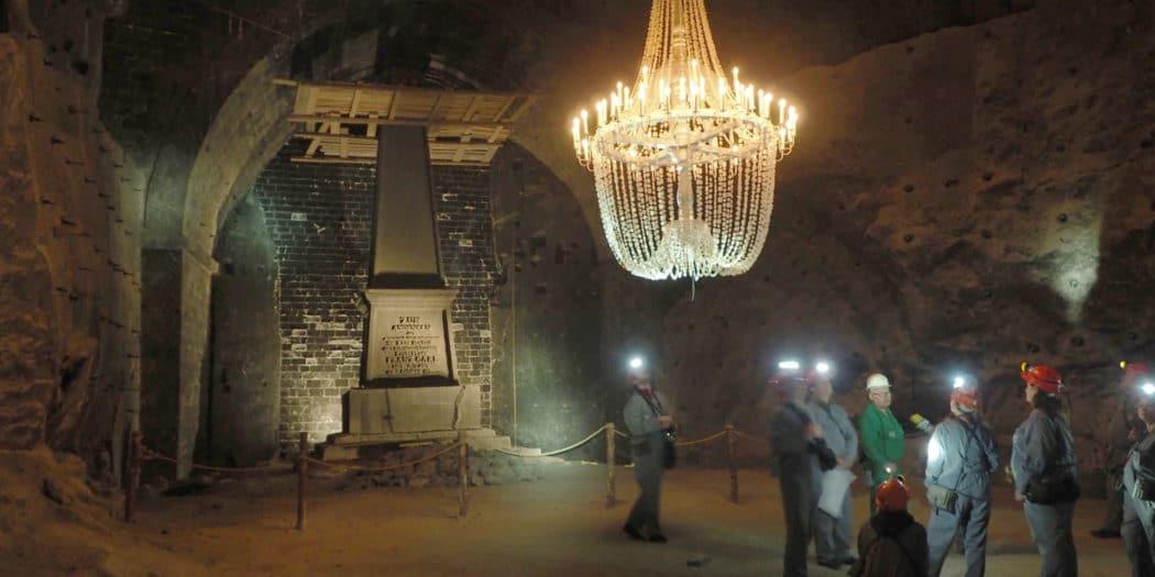 Komora Franciszek Karol w kopalni soli w Wieliczce