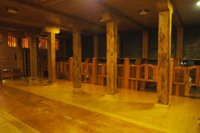 Sala noclegowa w kopalni soli w Wieliczce