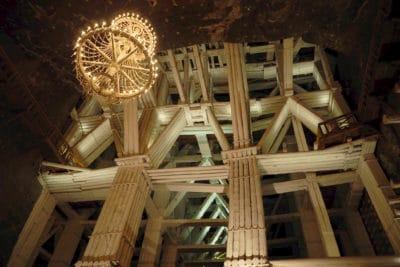 Komora Michałowice w kopalni w Wieliczce