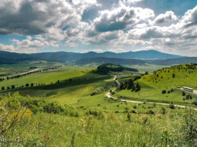 Panorama ze Spiskiego Zamku