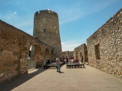 Wieża ostatniej obrony w Spiskim Zamku