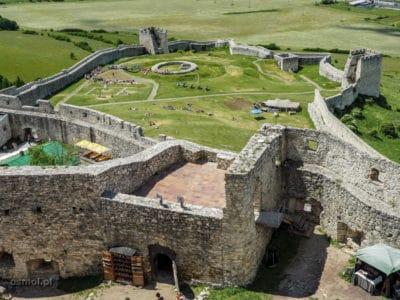 Dolny zamek w Spiskim Zamku