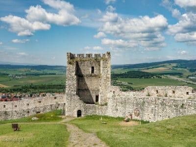 Wieża w Spiskim Zamku