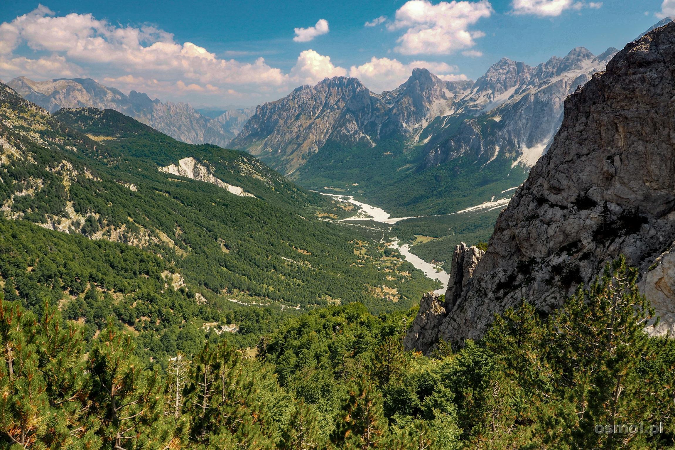 Dolina Valbony Albania