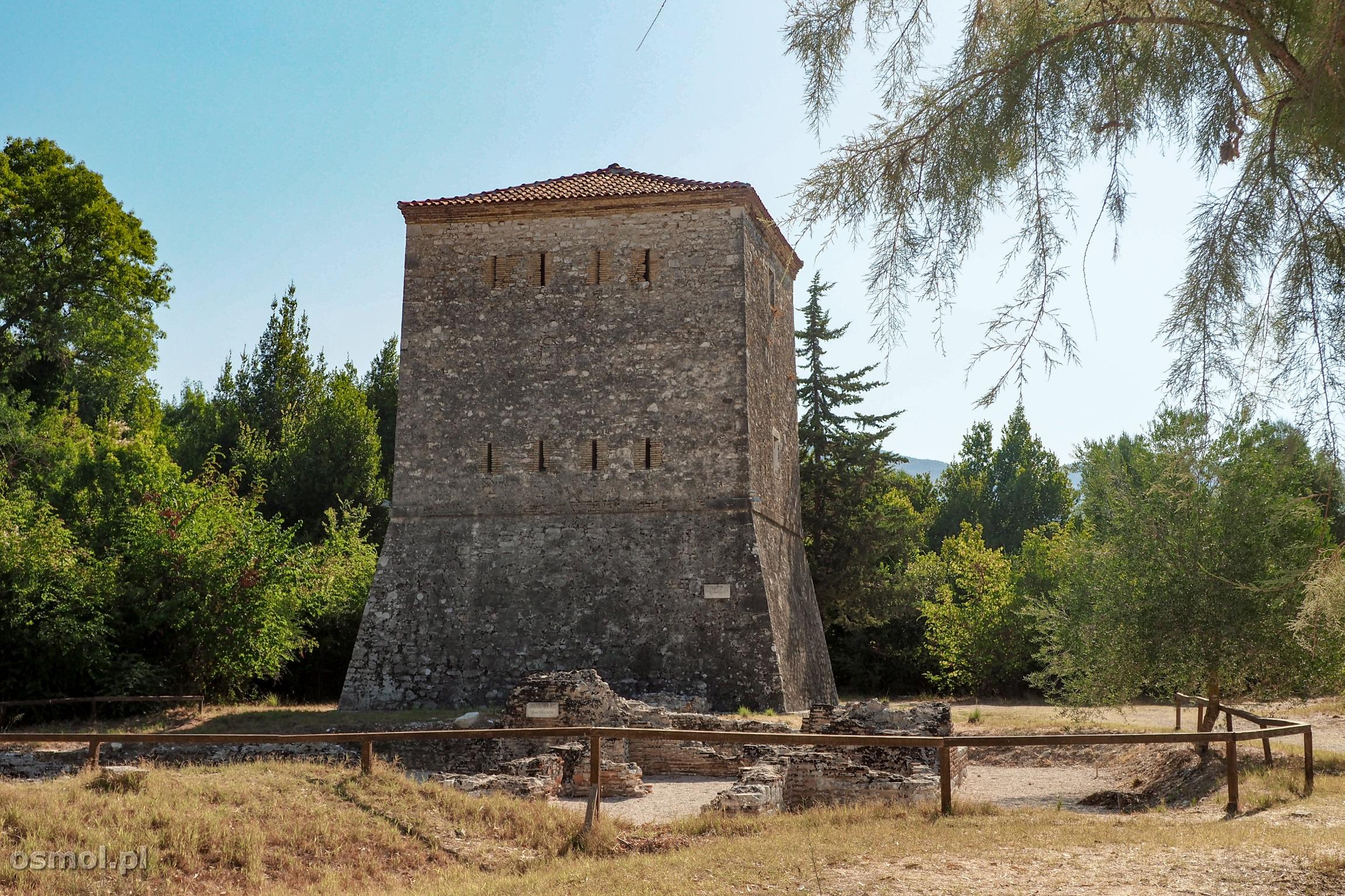 Wieża Wenecka w Butrincie.