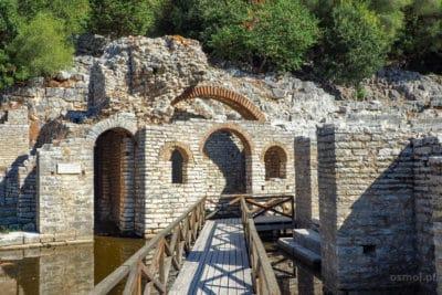 Butrint ruiny świątyni Asklepiosa